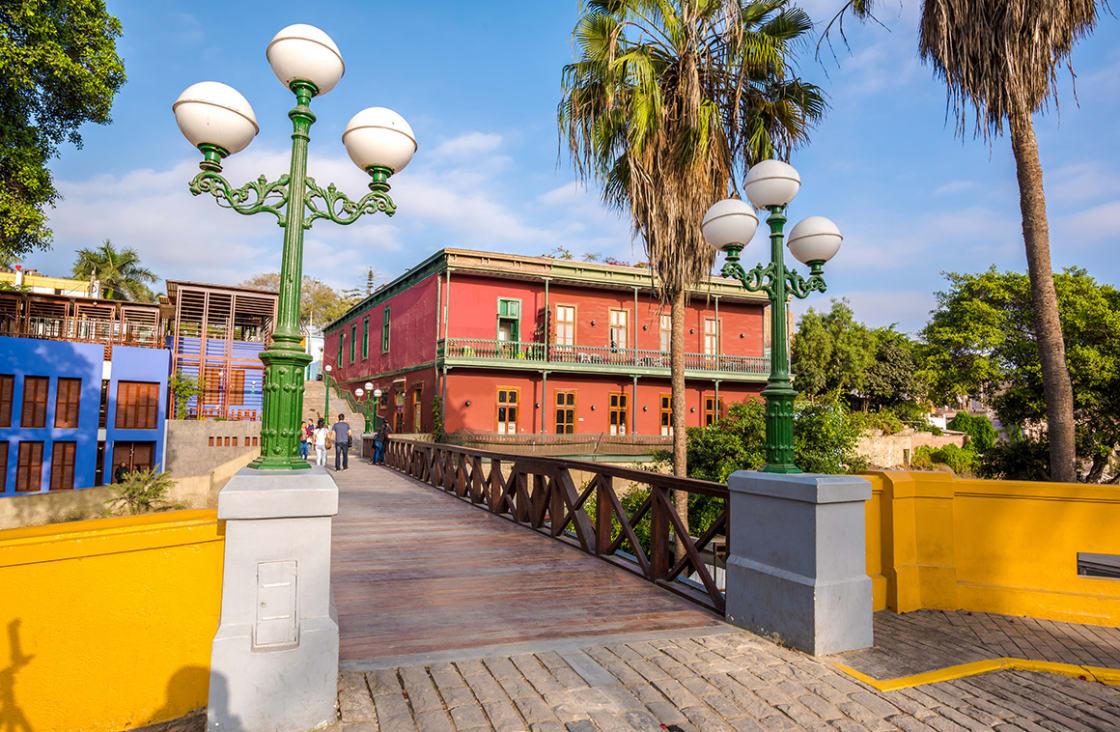 Barranco,,Lima,,Peru:,The,Old,Town,Of,Barranco,,In,Lima,