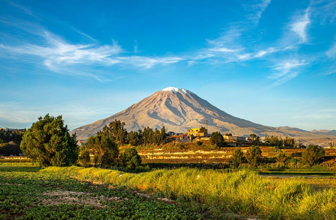 View,Of,Misti,Volcano,In,Arequipa,Peru