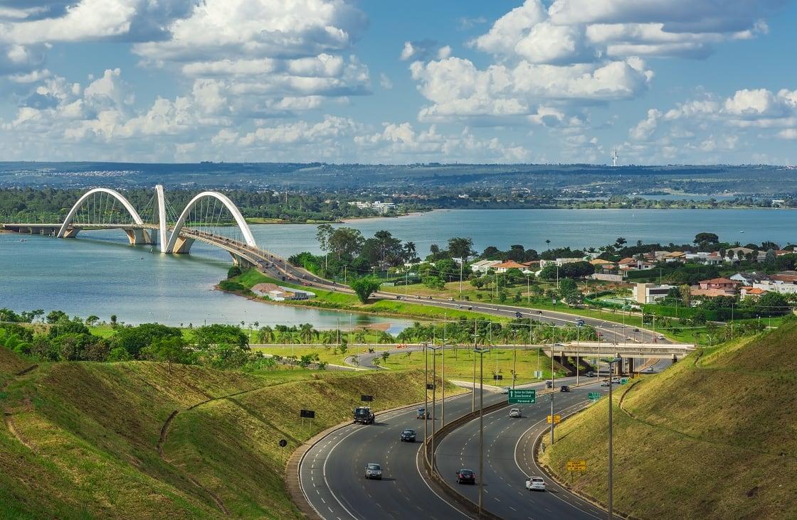 Jk,Bridge,In,Brasilia,,Brazil.
