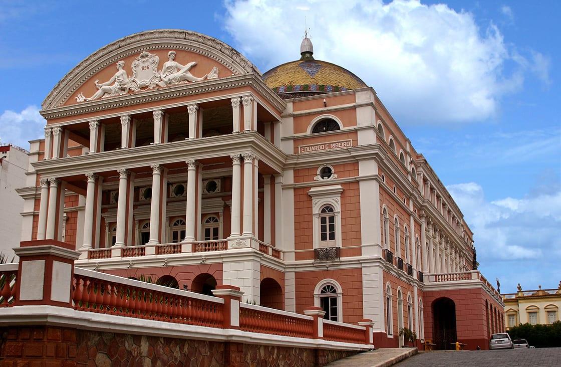 The Manaus Opera House, Brazil