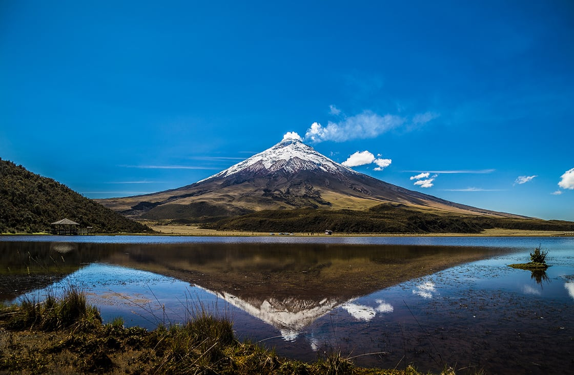 View Of The Cotopaxi Volcano