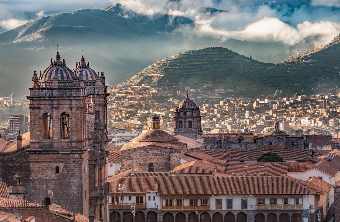 Cusco City, Capital Of The Inca Empire