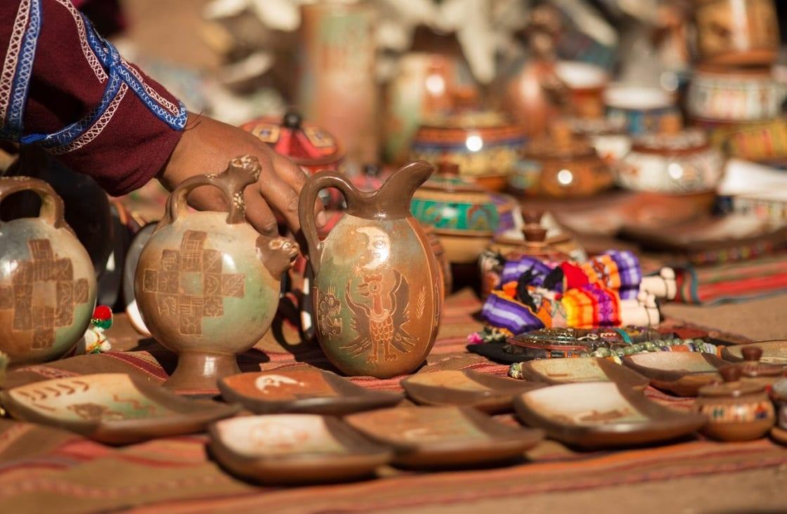 The Handicraft Market of Aguas Calientes