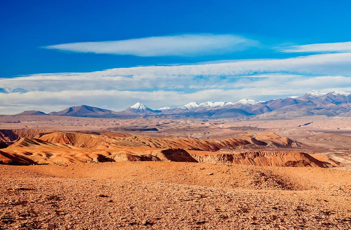 Landscape Of The Atacama Desert