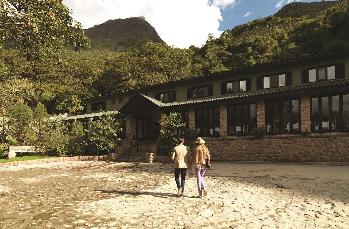 Exterior Of The Machu Picchu Sanctuary Lodge By Belmond