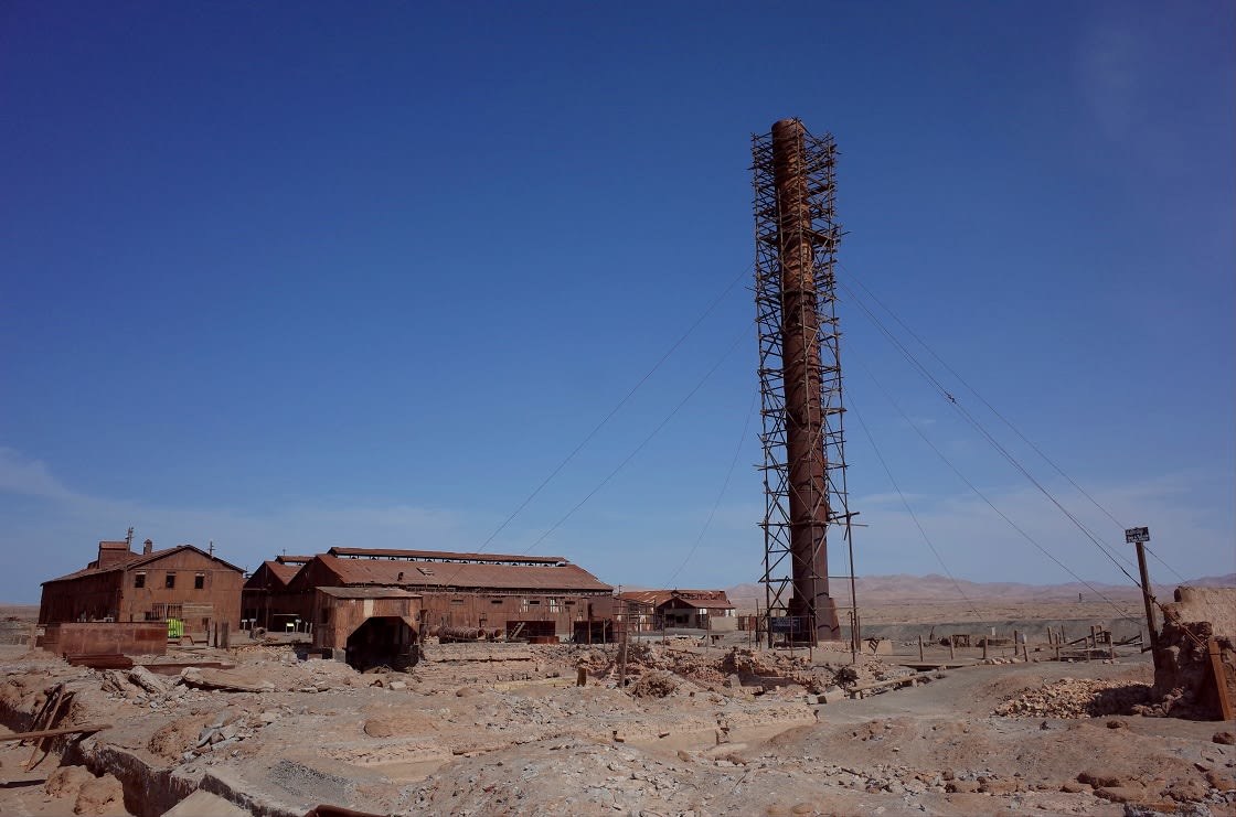The Abandoned Humberstone Saltpeter Works