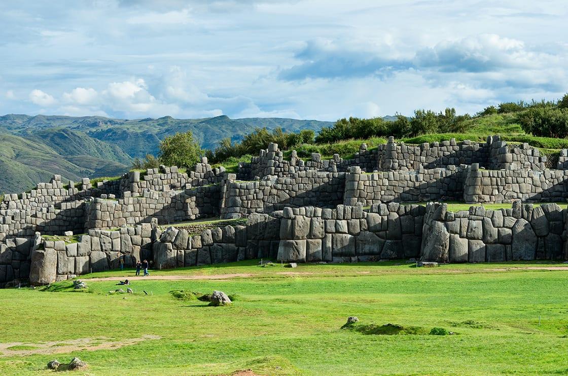 Sacsayhuaman Inca Ruins In Cusco Peru