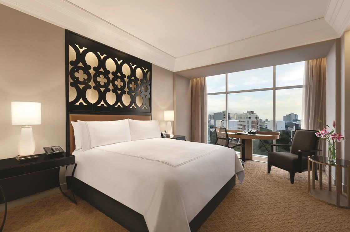 Standard King Room At The Hilton Miraflores