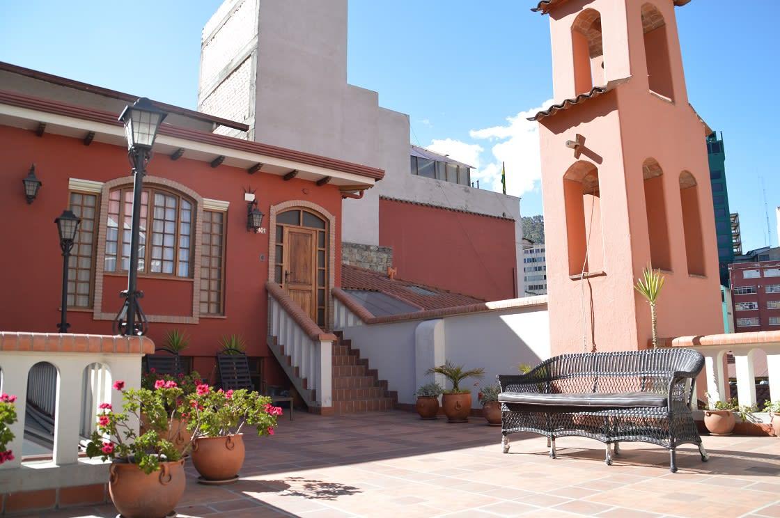 Exterior Of La Casona Boutique Hotel in La Paz