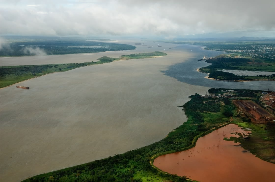 Orinoco River in Venezuela