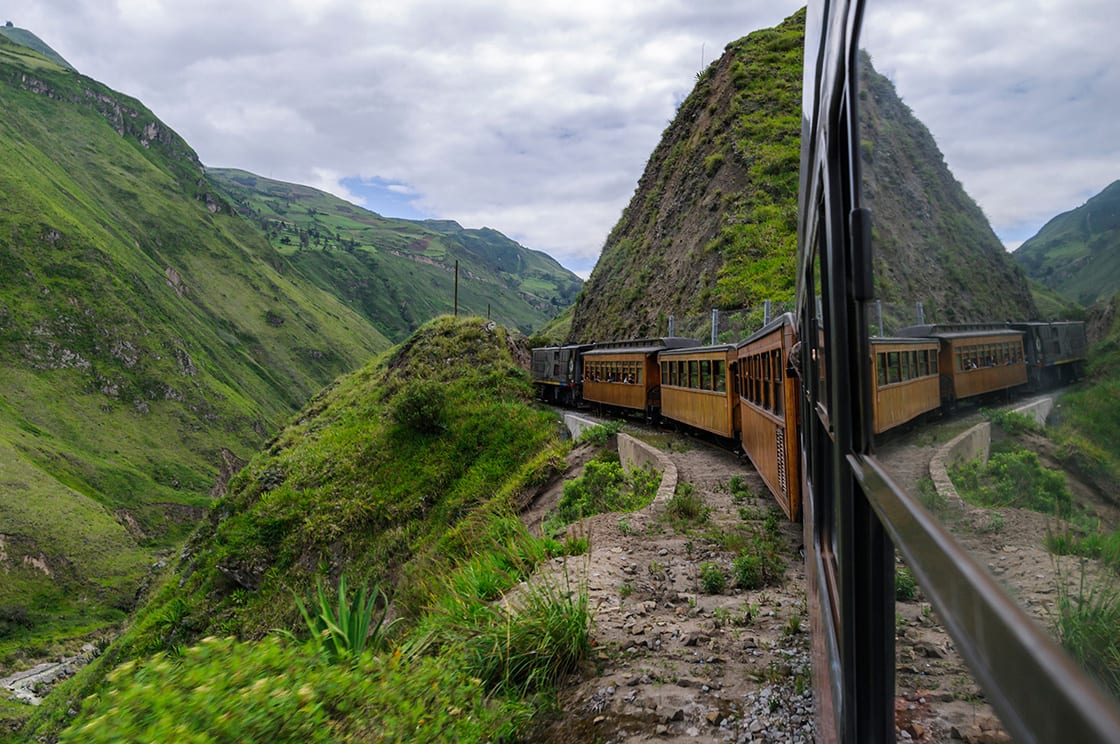 Train Ride In The Ecuadorian Andes To The Devil's Nose