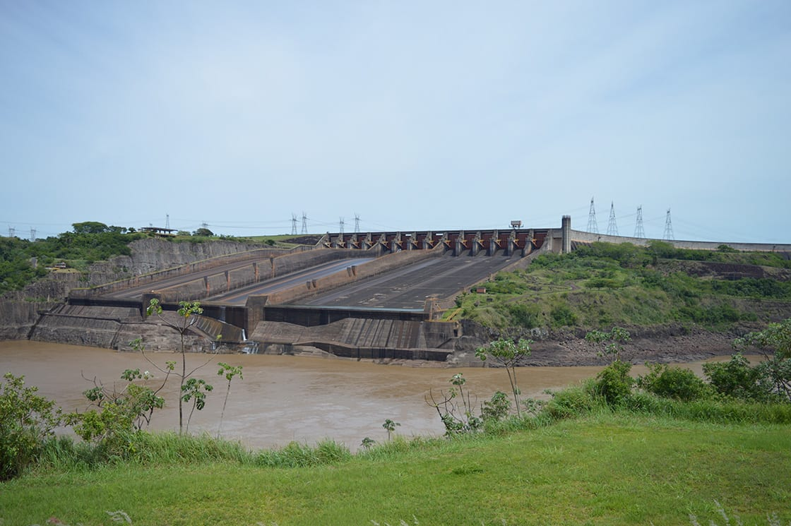 Itaipu Dam, the biggest hydroelectric dam in the world
