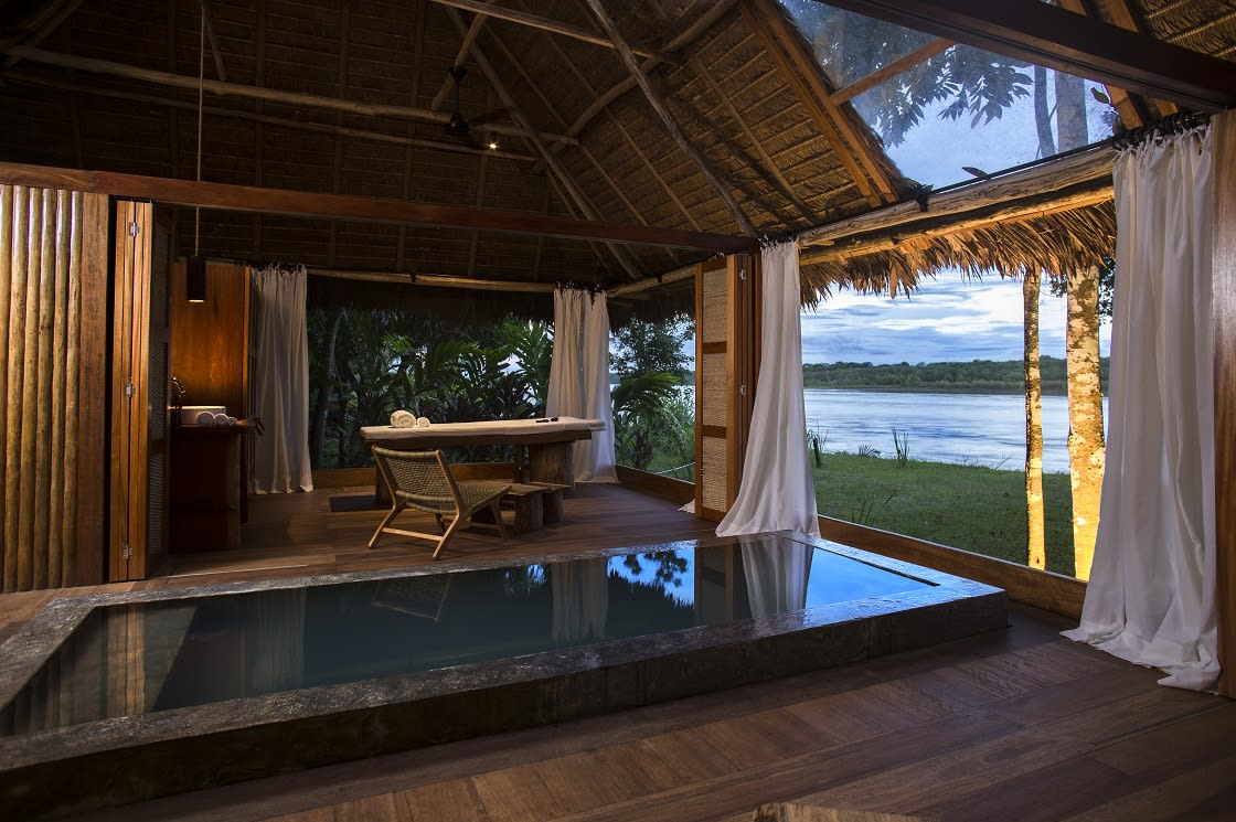 Spa At The Reserva Amazonica by Inkaterra