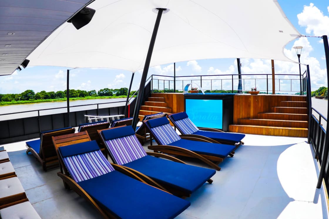 Peralta Cruise Sun Deck