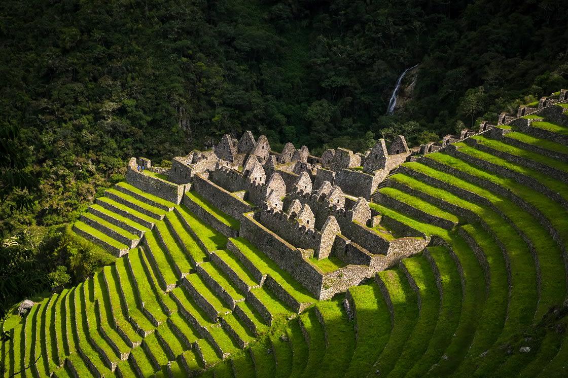 The,Ruins,Of,Winawayna,In,The,Original,Inca,Trail,,Near