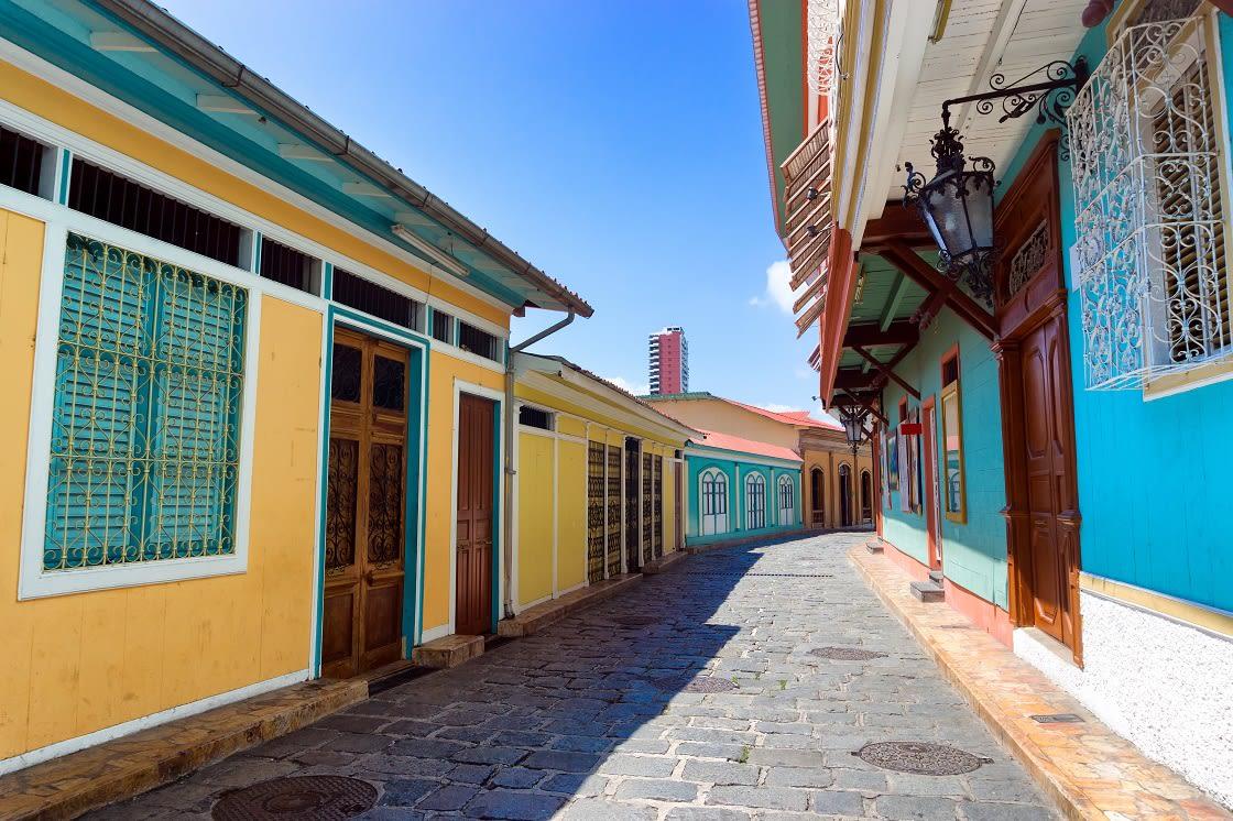 Las Penas Neighborhood In The City Of Guayaquil Ecuador