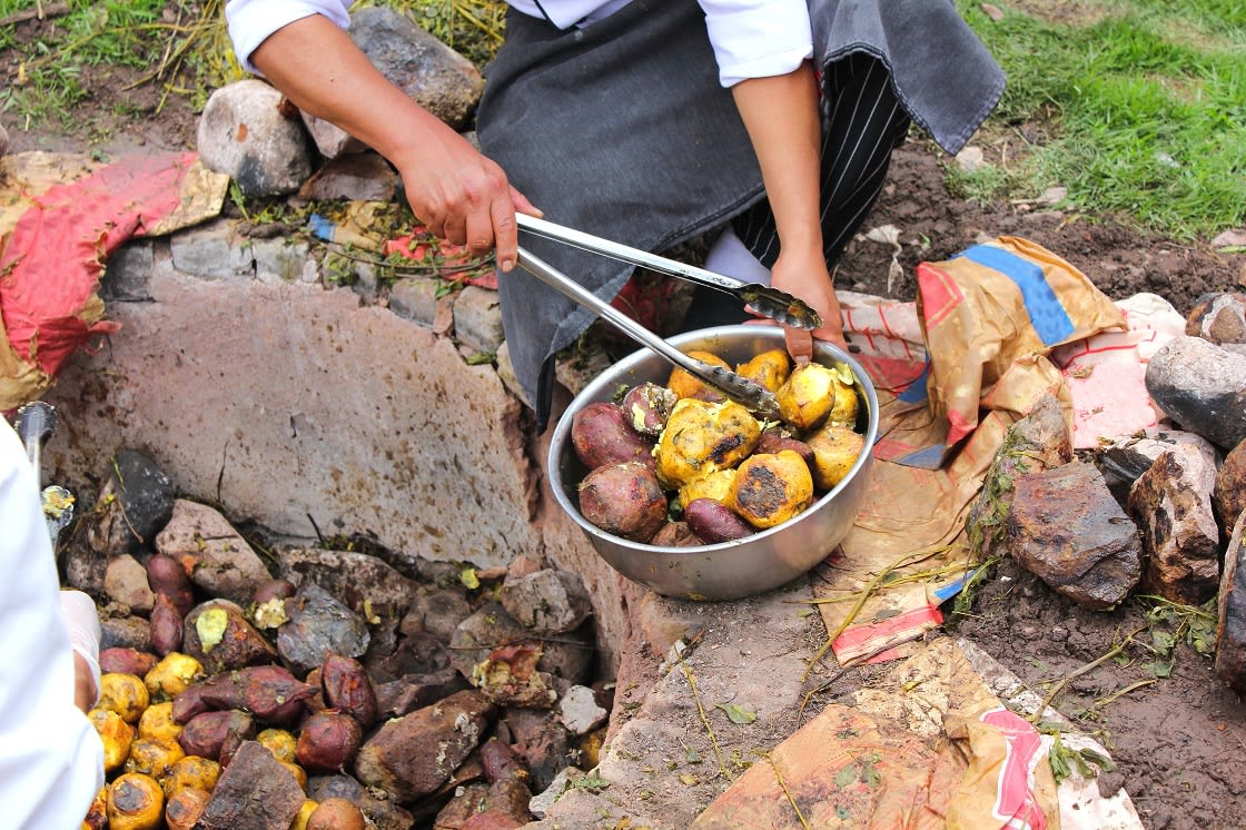 Pachamanca, Peruvian Cooking Method, Dating Back To The Incas