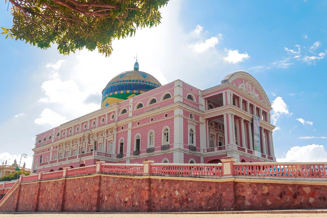 Amazon Theater Manaus, Brazil
