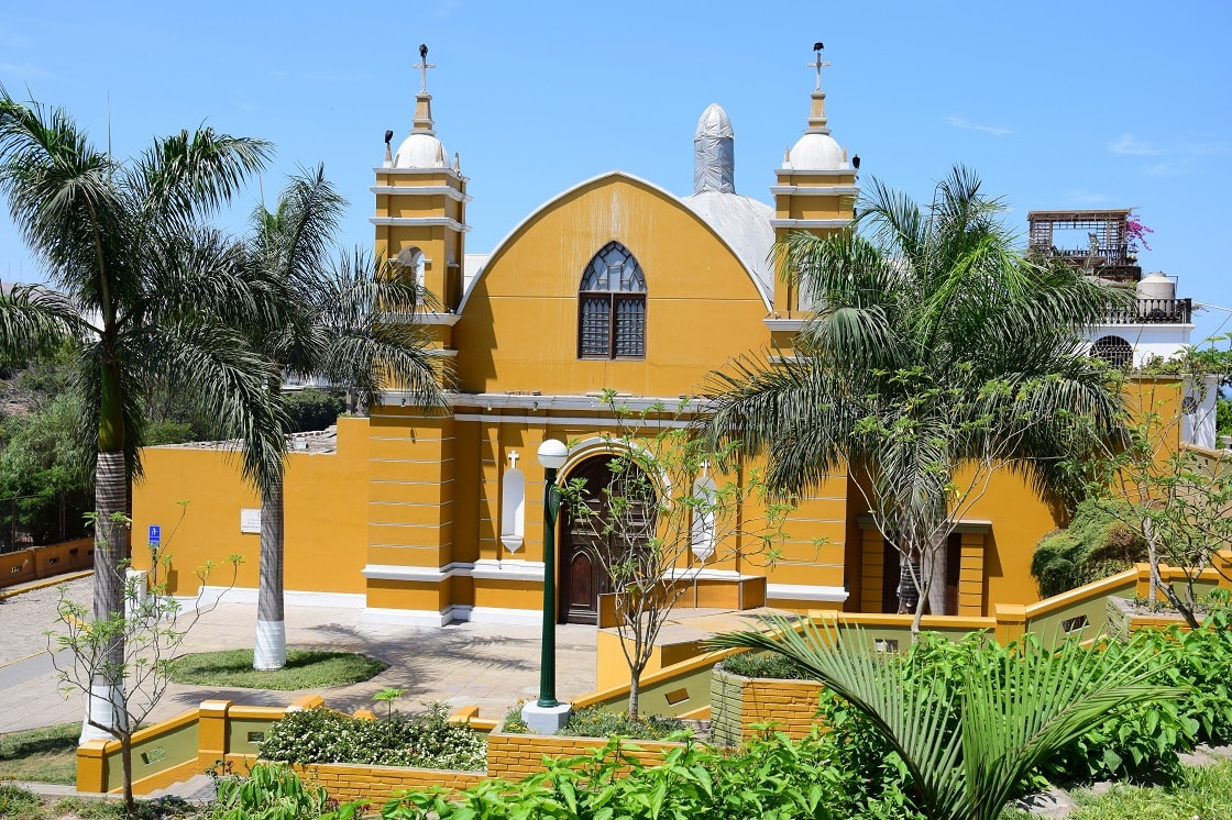 Ermita Church In Barranco District