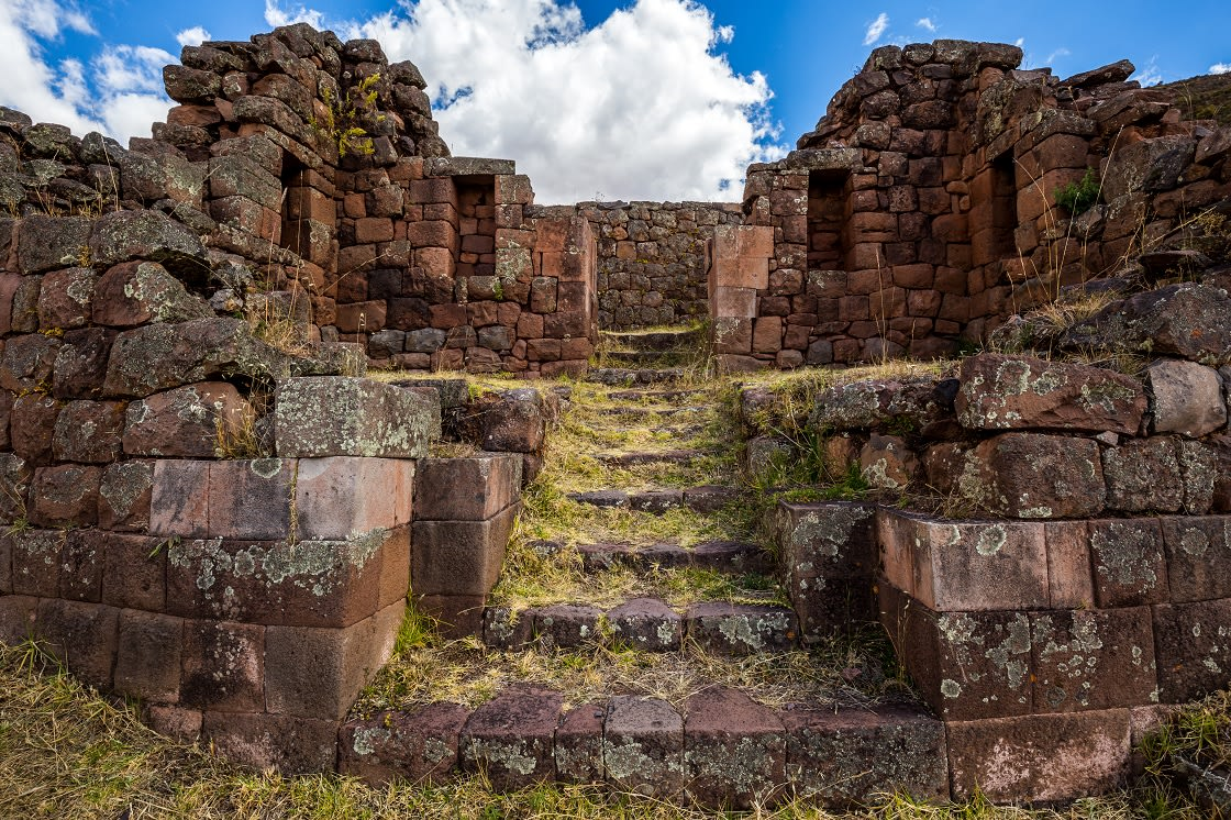 Pisac Ruins In The Sacred Valley Of The Incas