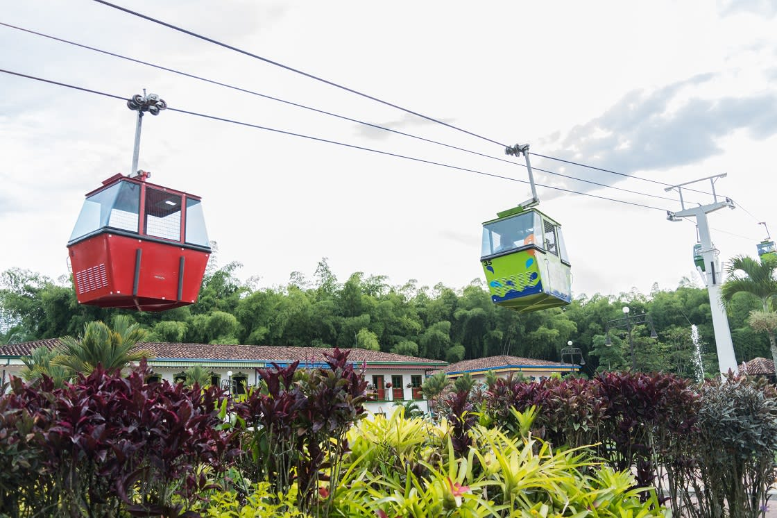 Cable Car Of The Coffee National Park