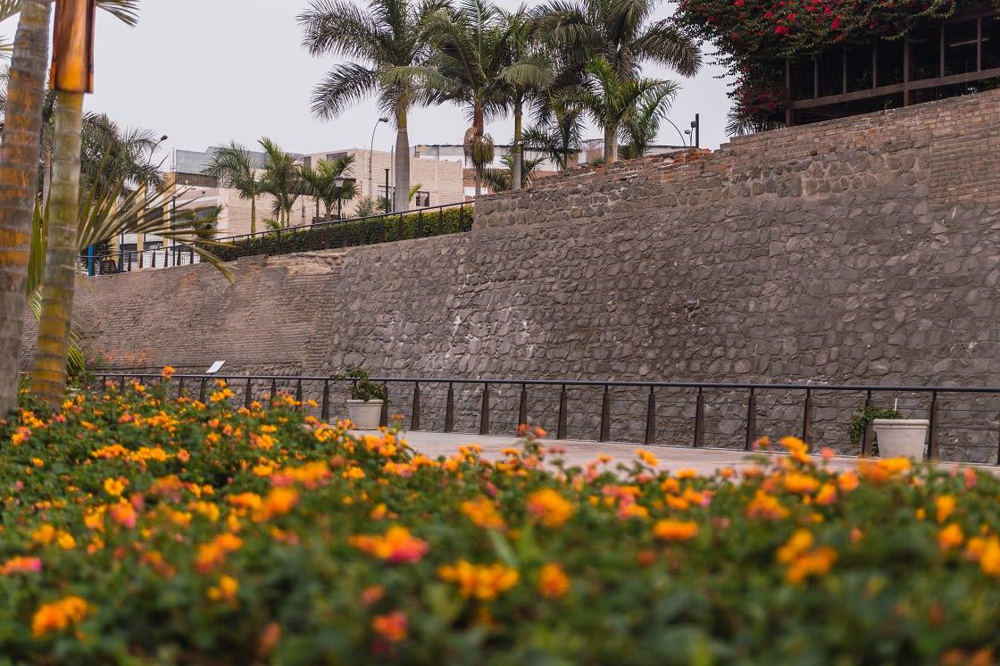 Parque De La Muralla, Lima