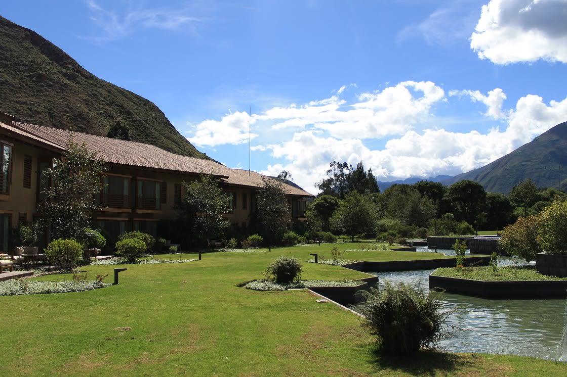 Tambo Del Inka Pool In The Sacred Valley, Cusco - Peru