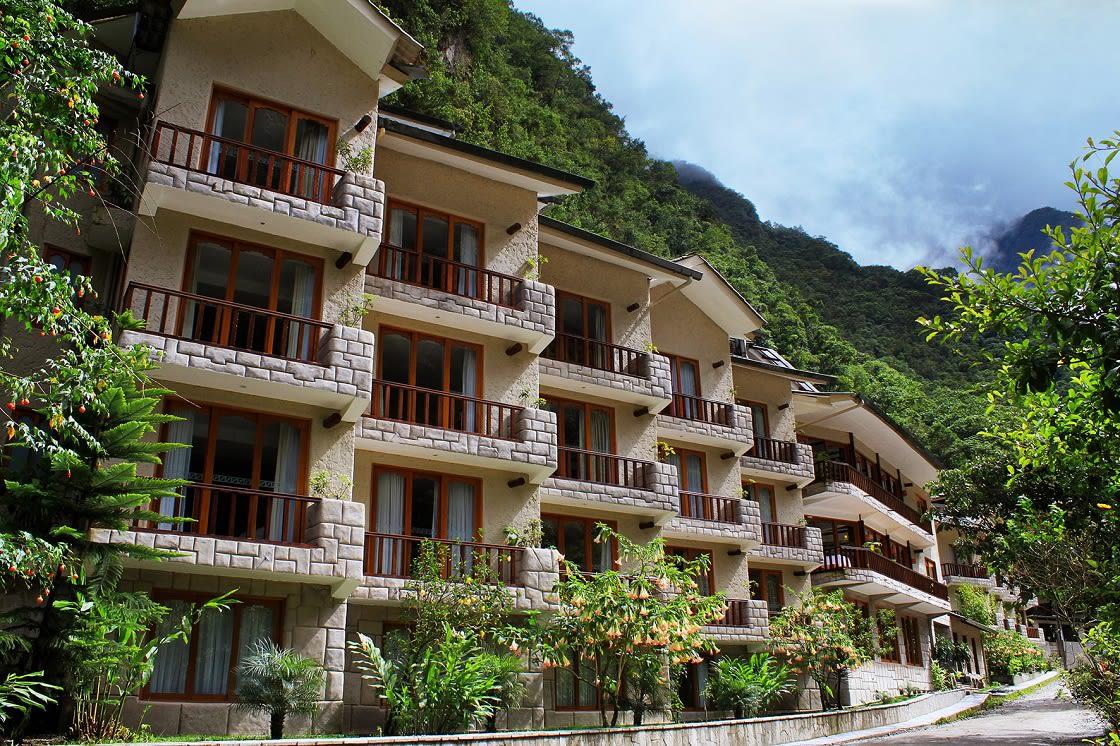 Exterior Of The Sumaq Hotel In Aguas Calientes Town