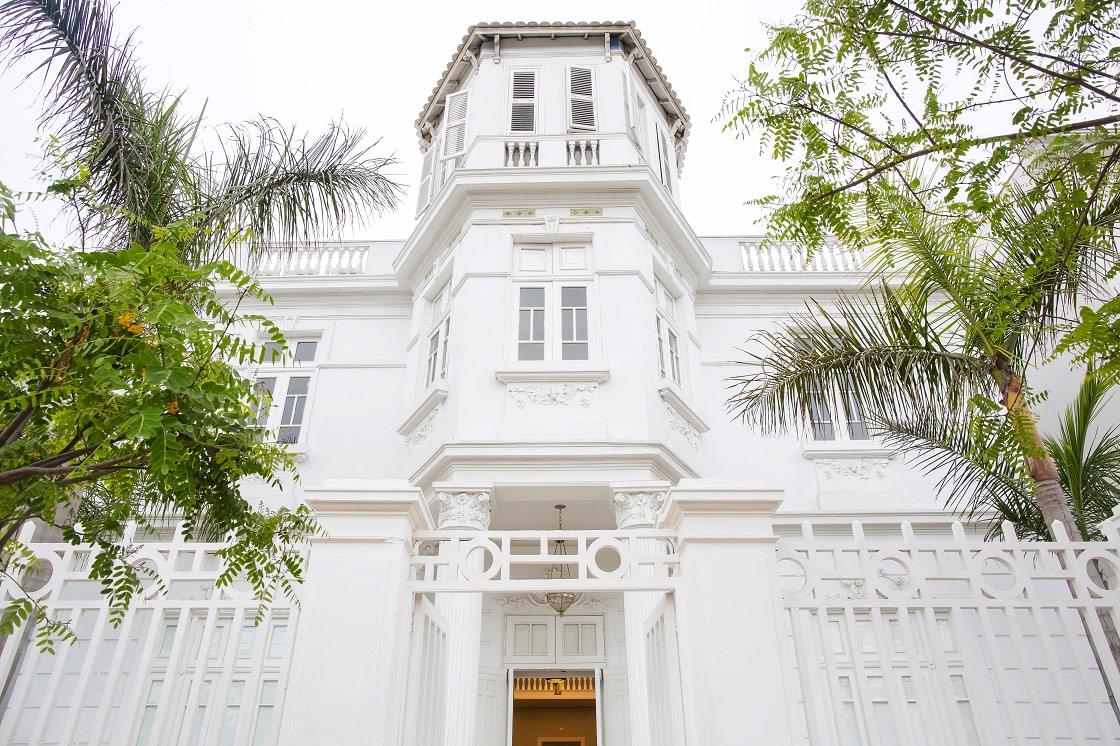Facade Of The Casa Republica Hotel in Barranco