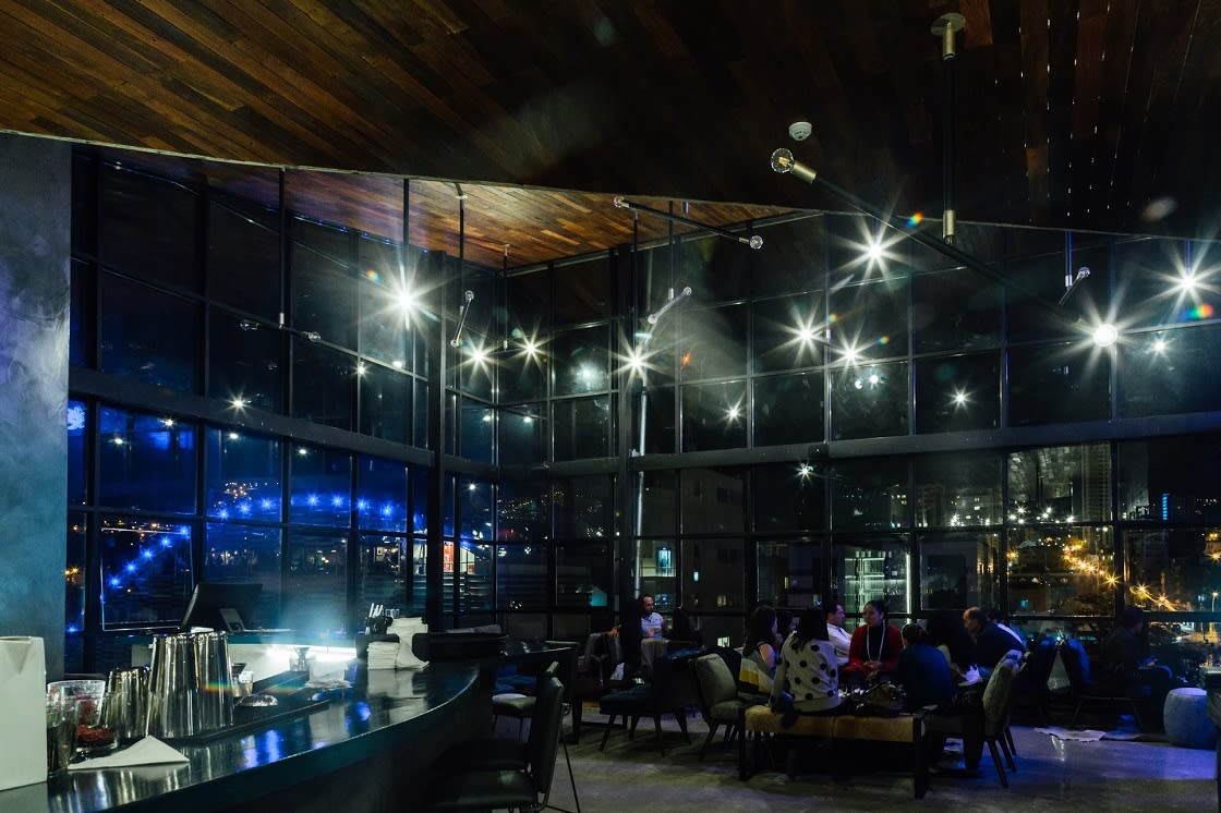 Hotel Bar At Atix In La Paz Bolivia