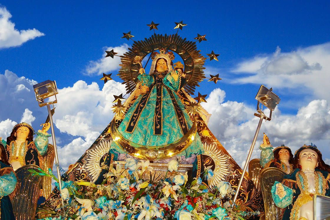 Image Of The Virgin Of The Candelaria