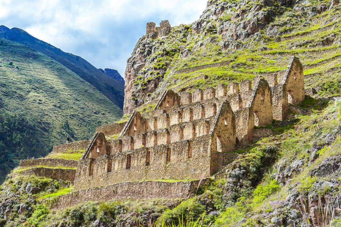 Pinkuylluna Ruins Of Ancient Inca Storehouses