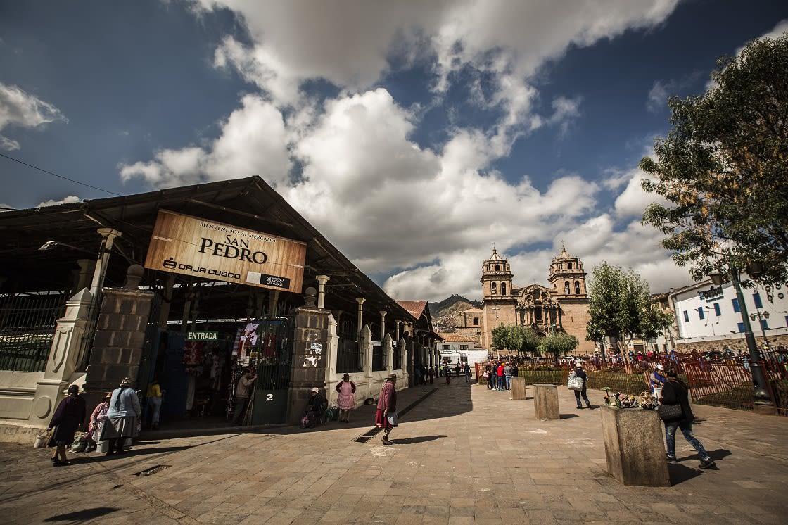 San Pedro Market, Cusco - Peru