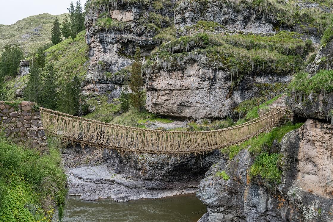 Q'eswachaka The Last Incan Bridge That Is Made Anew