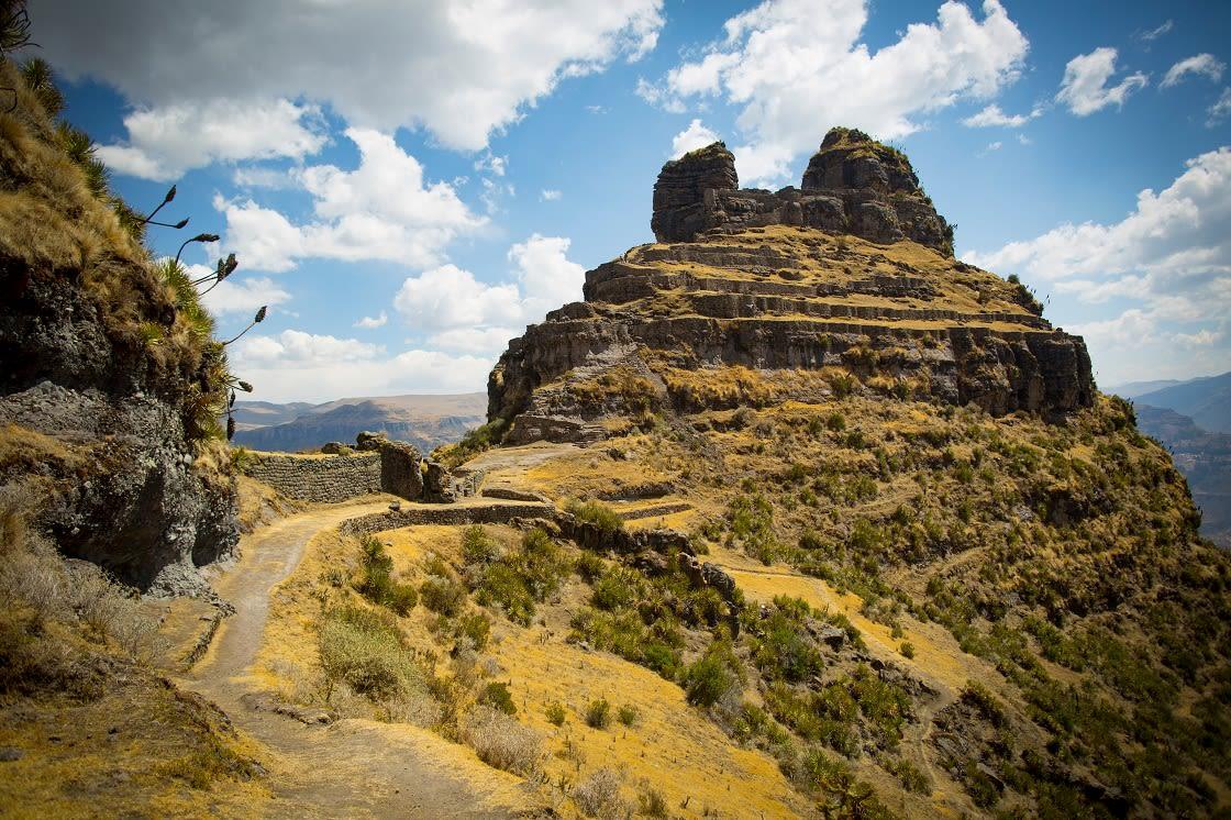 Old Andean City Of Waqrapukara
