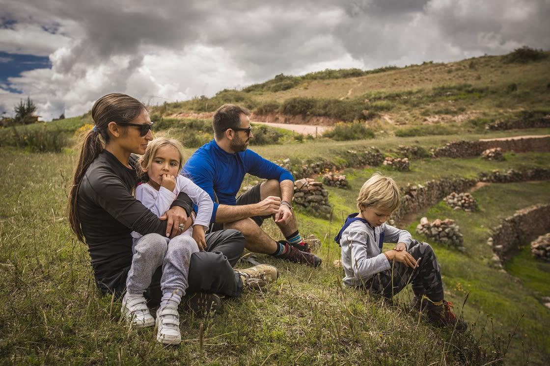 Family Hike to maras Moray
