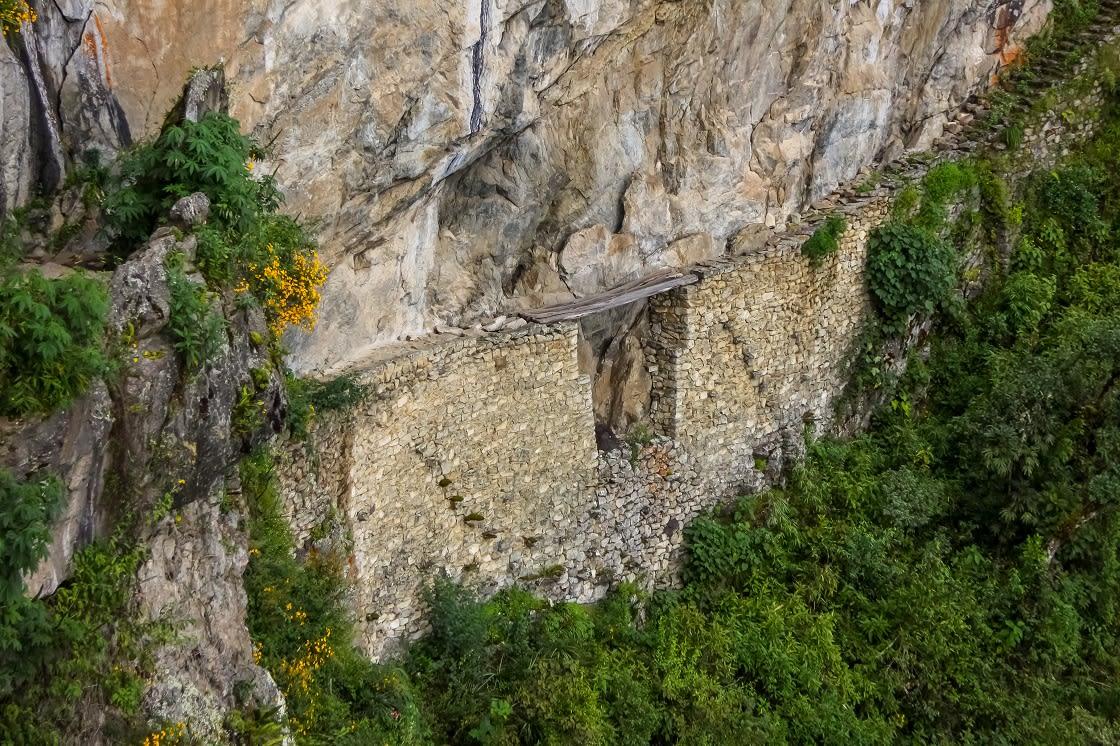 View To Inca Drawbridge