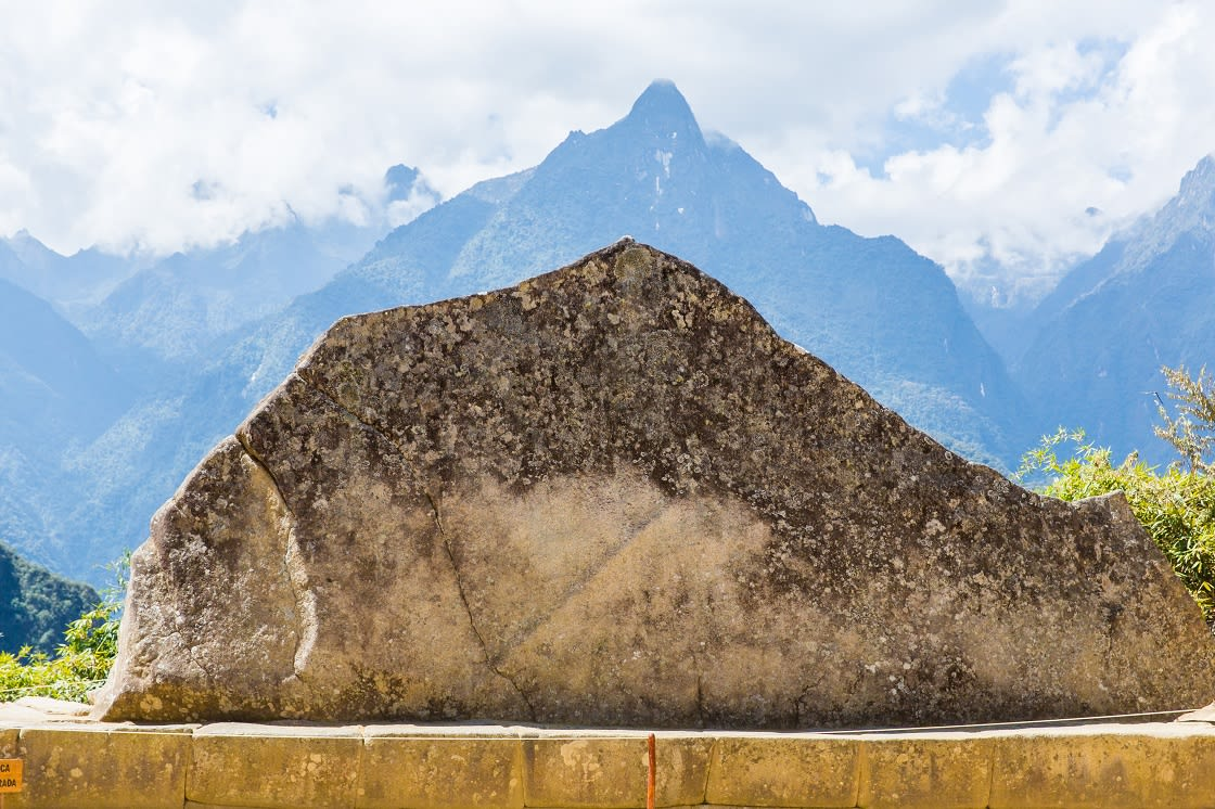 Mysterious Sacred Rock, Machu Picchu