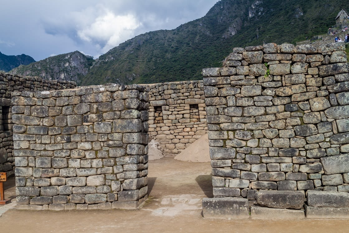 House Of The Hight Priest At Machu Picchu Ruins