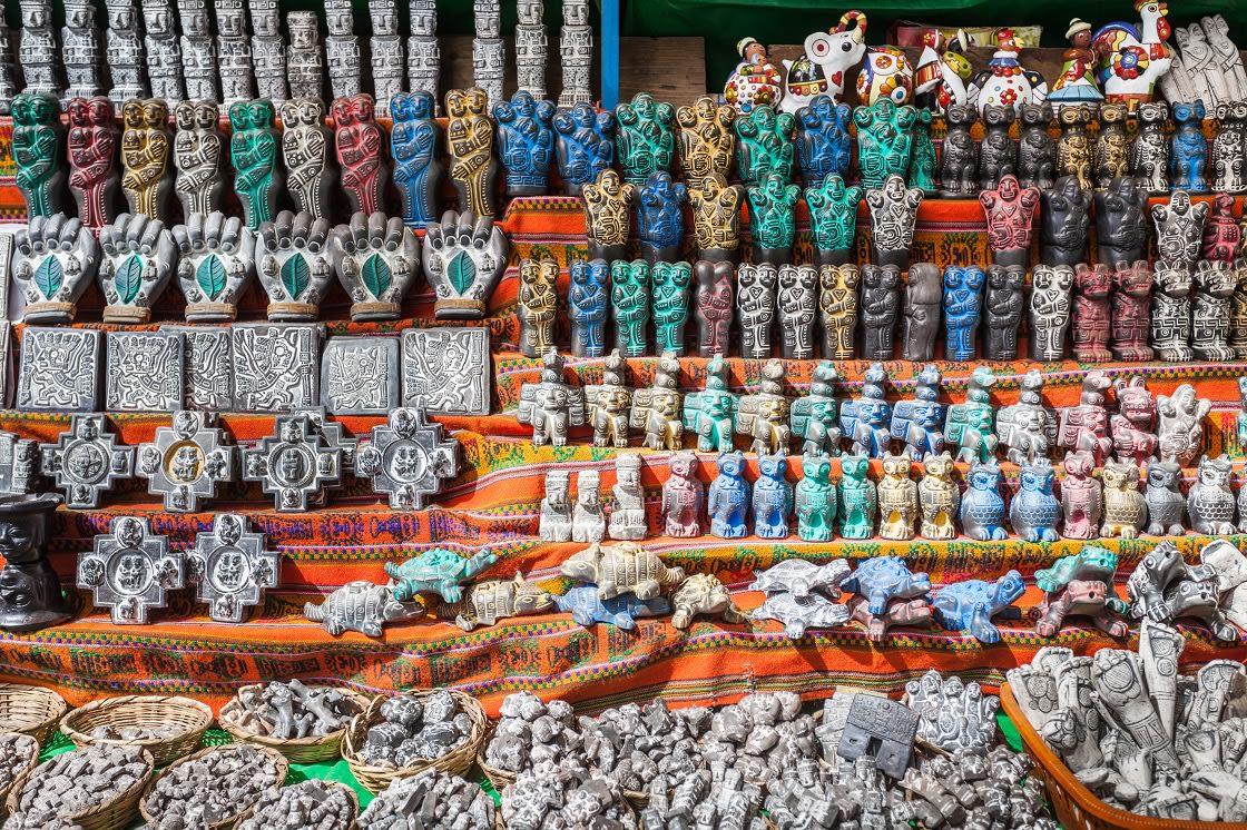 Souvenirs On Witche's Market, In La Paz
