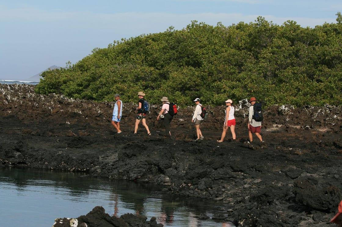 Exploring Isabela Island, In Galapagos