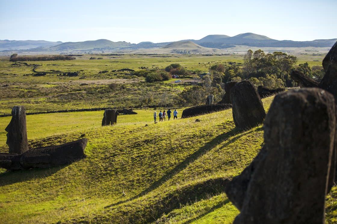 Hike To Rano Raraku By Explora Rapa Nui