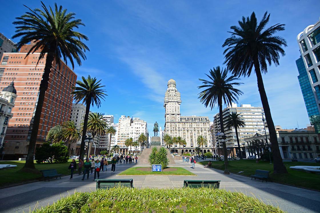 Montevideo,Uruguay,Old,City
