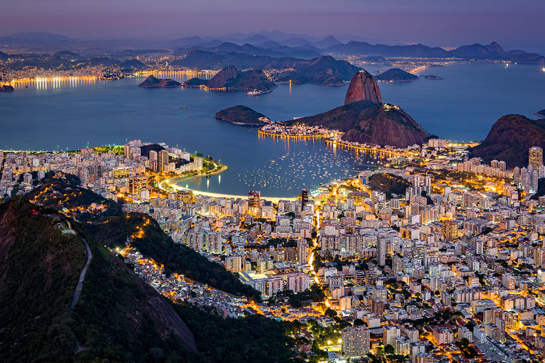 Spectacular,Aerial,View,Over,Rio,De,Janeiro,As,Viewed,From