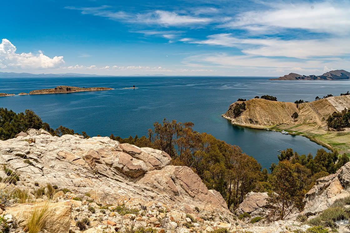 Titicaca Lake, View From Copacabana - Bolivia