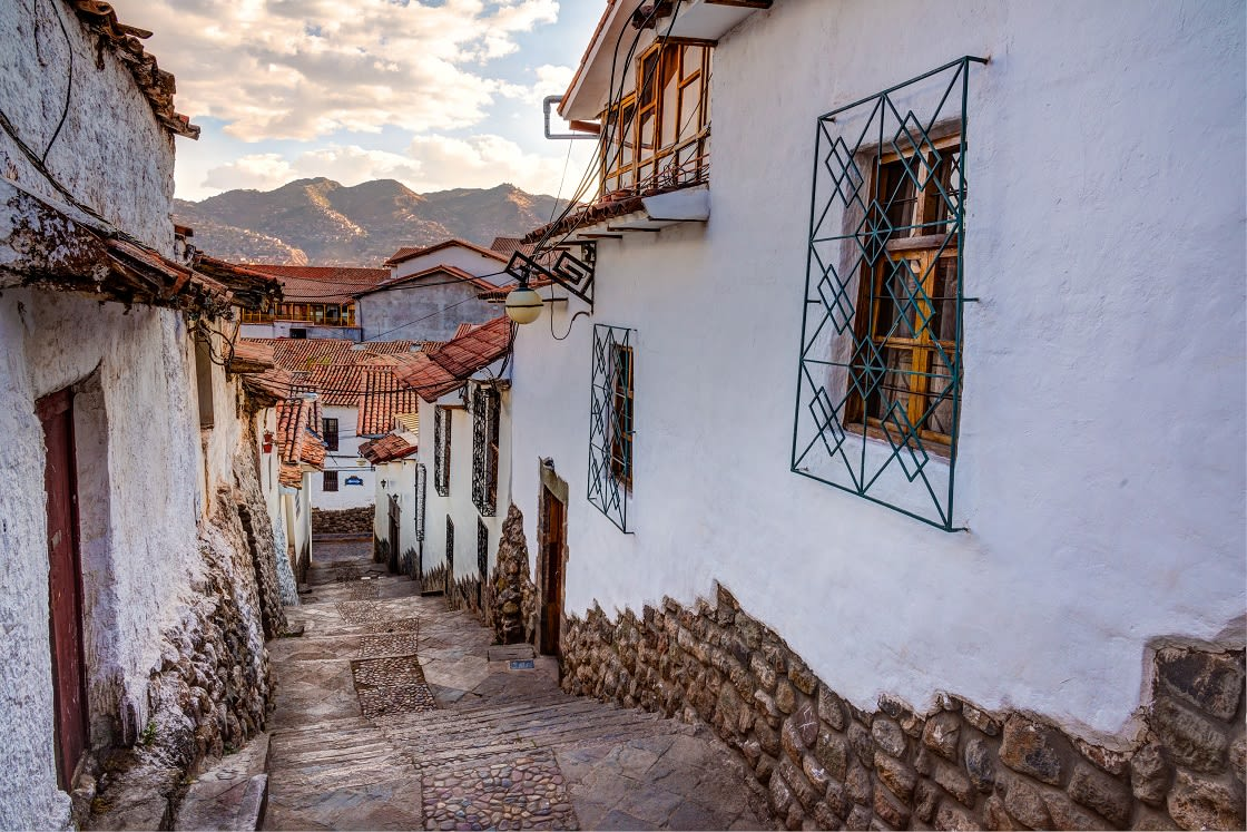 San Blas Neighbourhood In Cusco City