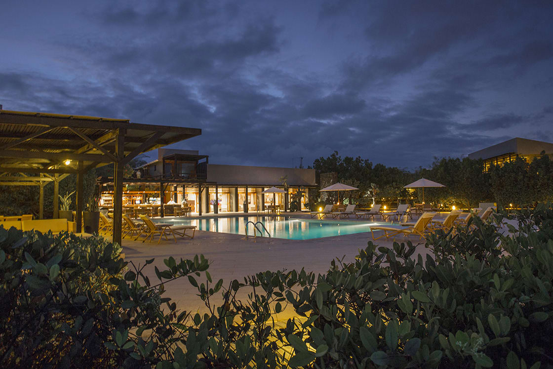 Pool Of The Finch Bay Hotel In Galapagos