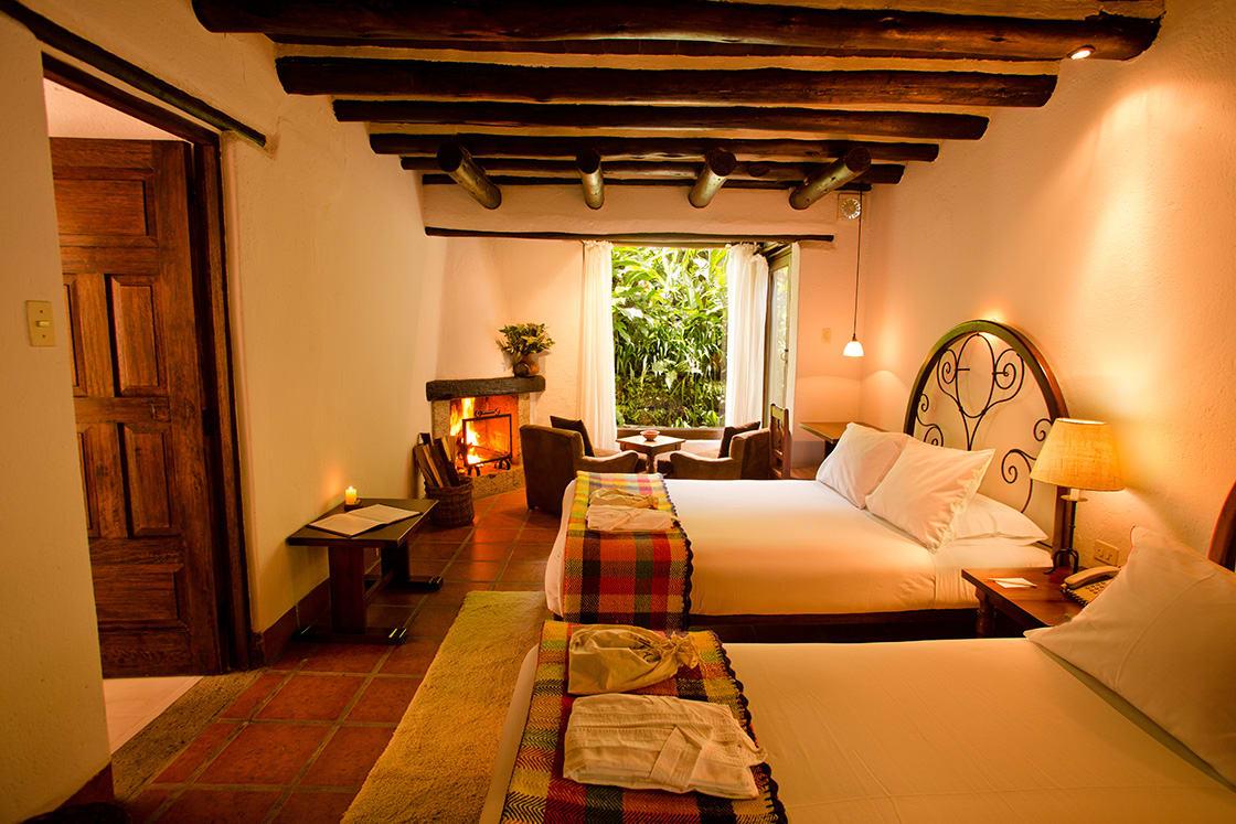 room at el pueblo hotel in aguas calientes