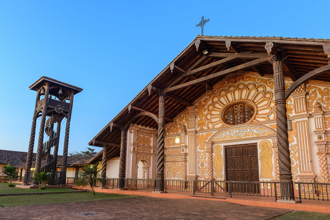 Jesuit Mission Church In Concepcion, Bolivia