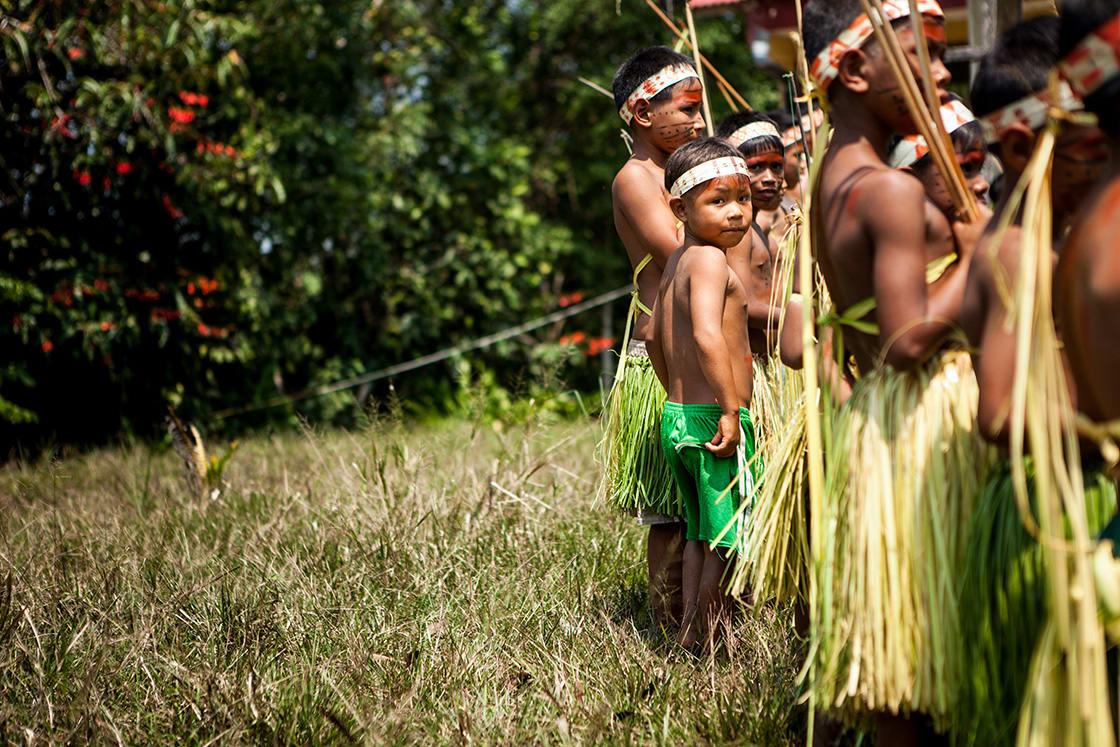 Uncontacted Tribes Amazon Children and Amazonia